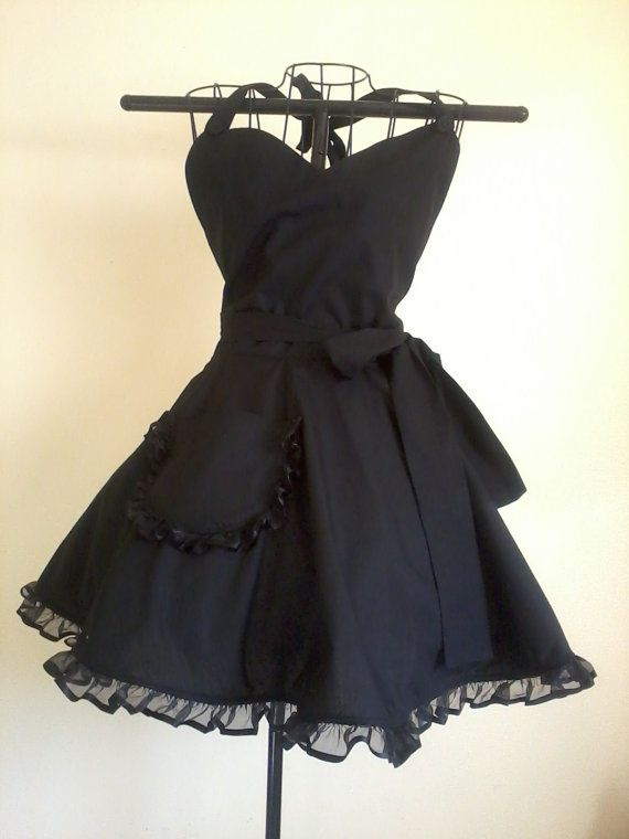 Hey, I found this really awesome Etsy listing at http://www.etsy.com/listing/129298838/black-retro-apron-classy-little-black