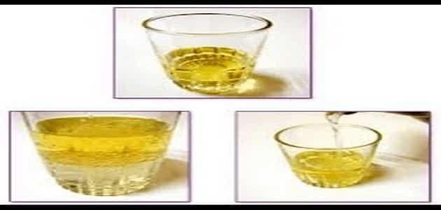 طريقة اختبار الحمل بالزيت قبل الدورة بأسبوع Glassware Shot Glass Oils