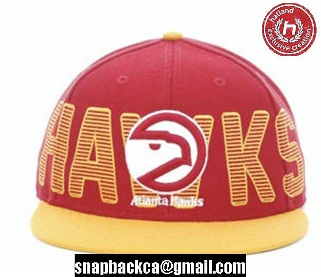 snapbackca nba atlanta hawks snapback orange red hats caps 016