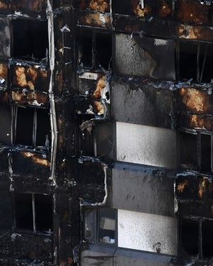 Cladding for Grenfell Tower was cheaper, more flammable option https://www.theguardian.com/uk-news/2017/jun/16/manufacturer-of-cladding-on-grenfell-tower-identified-as-omnis-exteriors 1984 documentary https://www.facebook.com/PigGate2/videos/1879787352284519/ https://www.facebook.com/PigGate2/videos/1879559682307286/