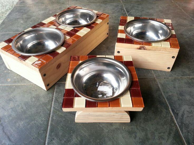 Well-liked 67 best Dog Bowls images on Pinterest | Dog bowls, Natural wood  KJ76
