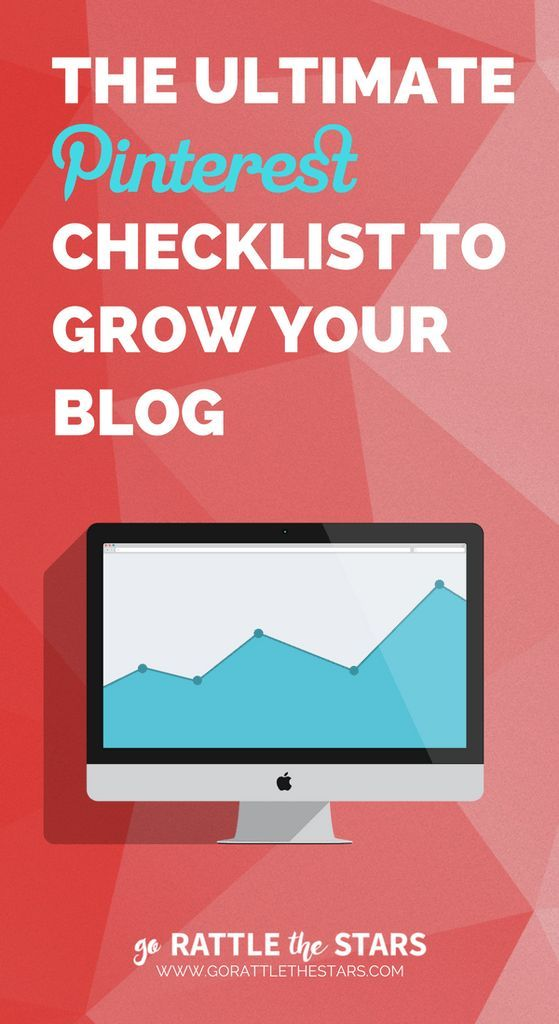 The Ultimate Pinterest Checklist to Grow Your Blog | 23 things you ABSOLUTELY need to be doing in order to grow your traffic with Pinterest | Social media marketing | Blogging
