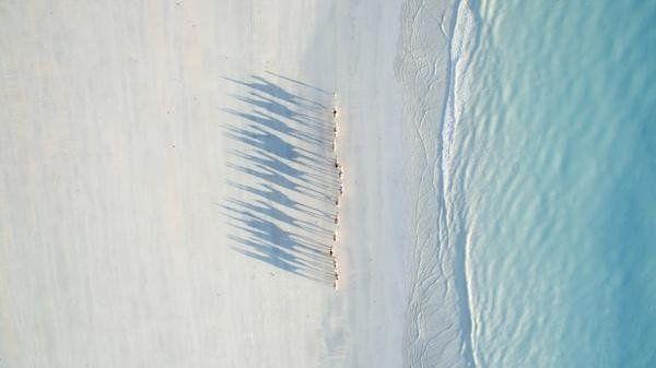 雅虎科技新聞: 2016最佳無人機攝影作品 - Yahoo奇摩新聞 - 西澳大利亞凱布爾海灘