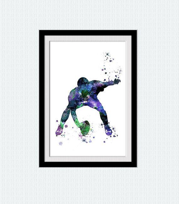 American football player poster American football illustration American football…
