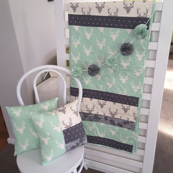 Hey, I found this really awesome Etsy listing at https://www.etsy.com/listing/293724273/modern-baby-cot-quilt