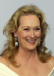 Mery Streep. She does it so serenely.