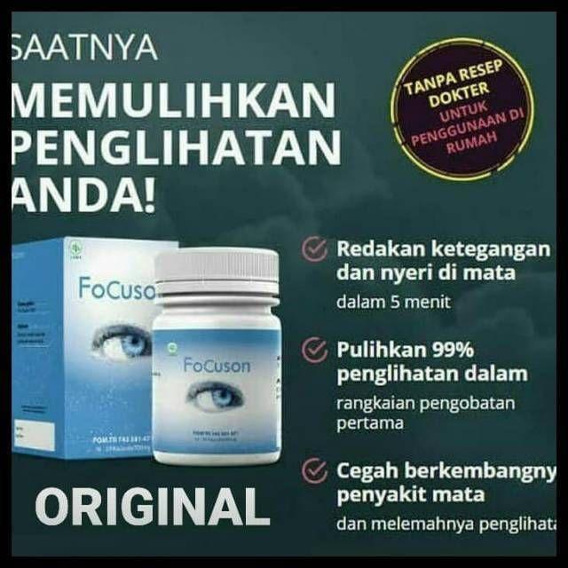 Obat Focuson Asli 100 Original Bpom Obat Mata Ampuh Herbal Di 2020 Mata Herbal Pemulihan