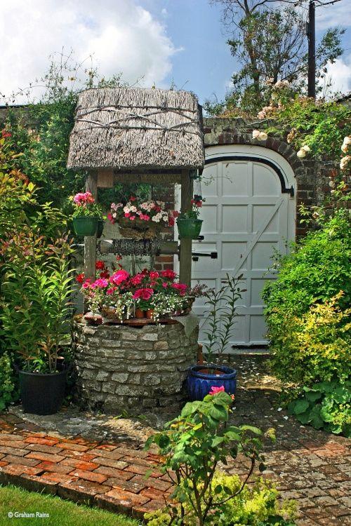 Cottage Gardens, Shillingstone, Dorset, by Graham Rains