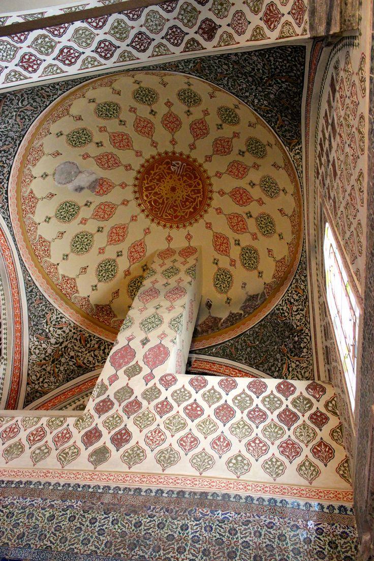 ornamental ceiling in Topkapi