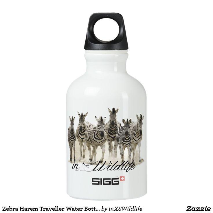 Zebra Harem Traveller Water Bottle (0.3L)