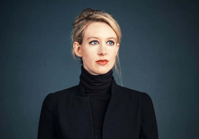 Elizabeth Holmes, Stanford drop-out. Youngest woman on the Forbes 400. Founder of Theranos.
