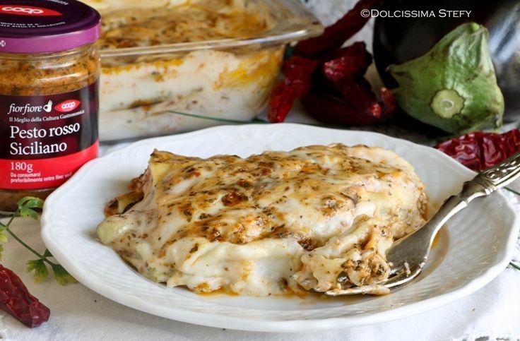Lasagne al Pesto rosso siciliano