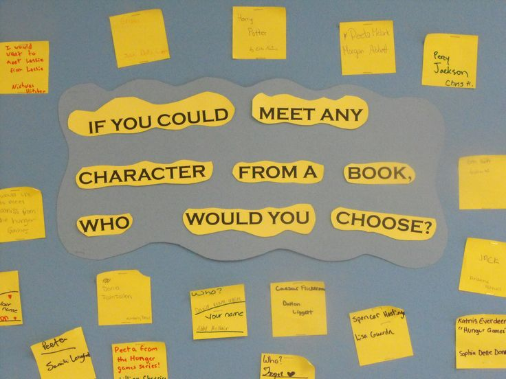 If You Could Meet Any Character From a Book, Who Would You Choose? -- perhaps choose between different characters in different genres