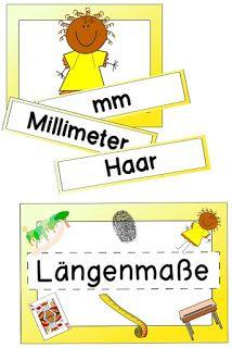 Fächerübergreifend leicht gemacht: Längenmaße - Tafel- u/o Legematerial