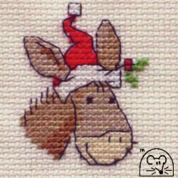 Large Picture of Christmas Donkey