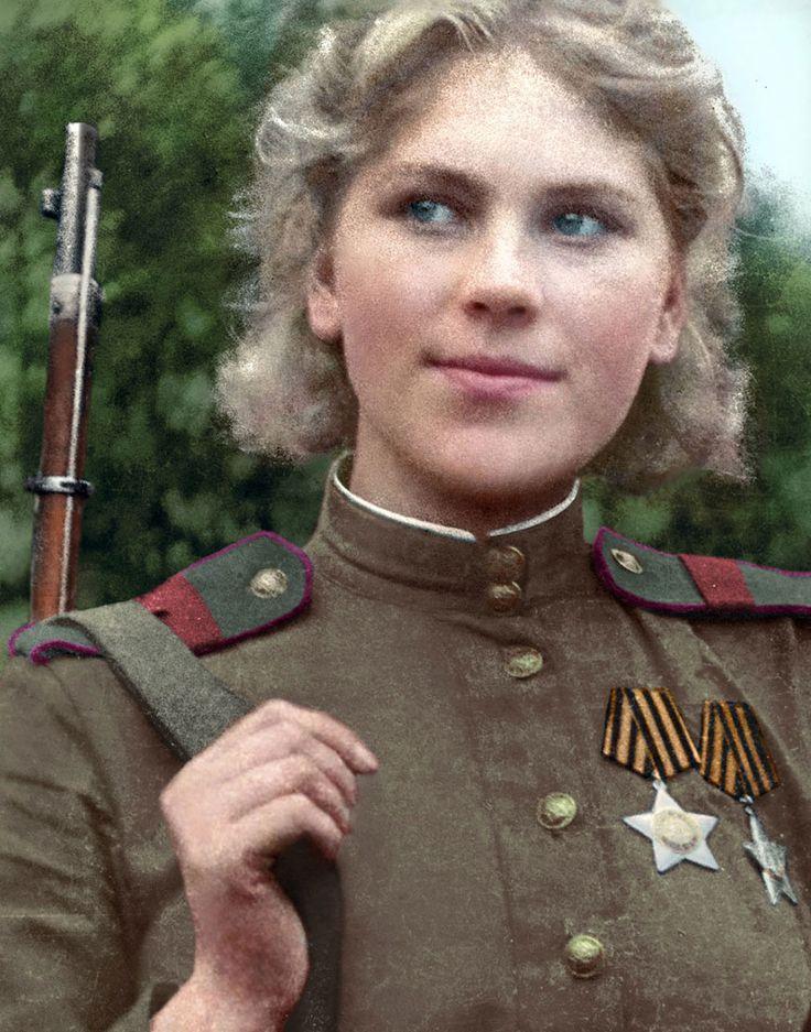 Photos colorisées de la Vie des Russes entre 1900 et 1965 (3)