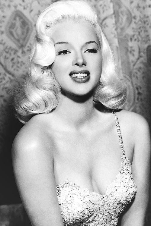 Diana Dors c. 1950s I have always loved her hair, stunning!