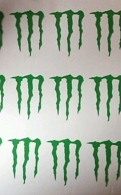 25 Premium Monster Energy Drink Logo Tanning Bed Stickers Hott SeXy