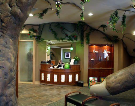 Safari Themed Pediatric Office