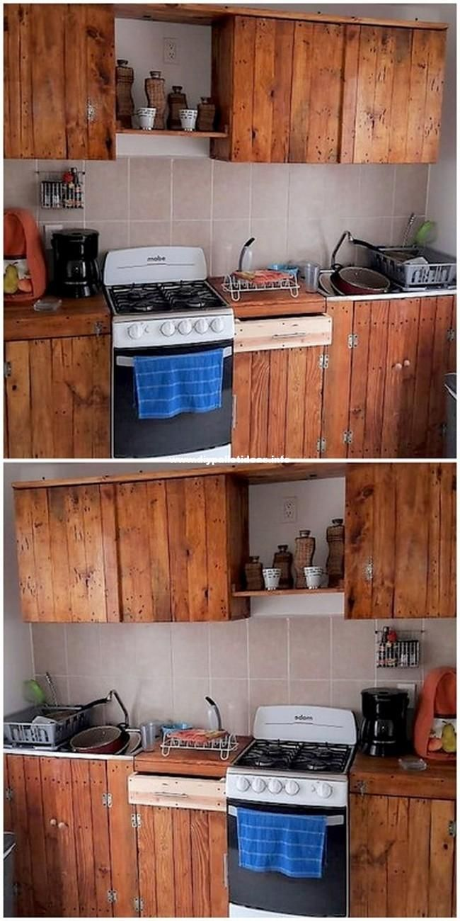 Lovely Pallet Kitchen Pallet Kitchen Cabinets Pallet Furniture Pallet Kitchen