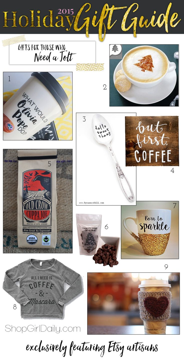 2015 Holiday Gift Guide | Coffee Gifts
