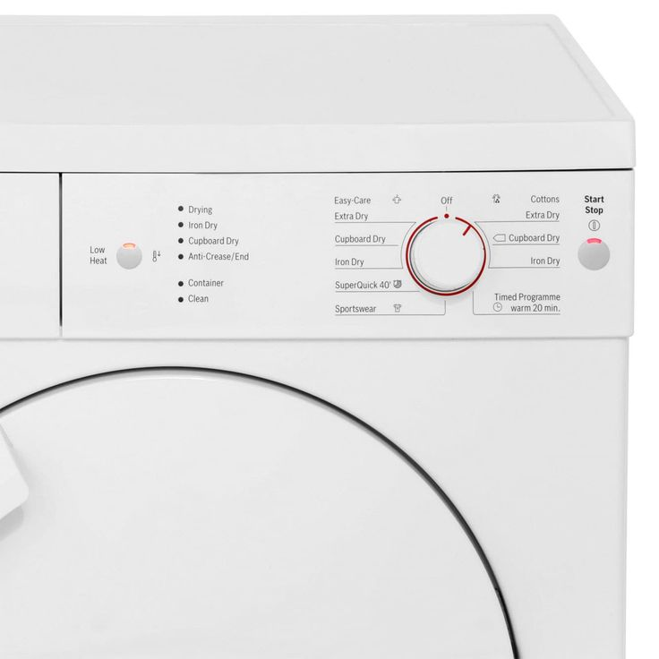 WTE84106GB_WH | Bosch Tumble Dryer | 7kg | B | ao.com