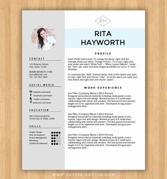 Resume Templates Free Word Luxury Best 25 Free Cv Template Ideas On Pinterest Cv Template Free Free Resume Template Download Downloadable Resume Template