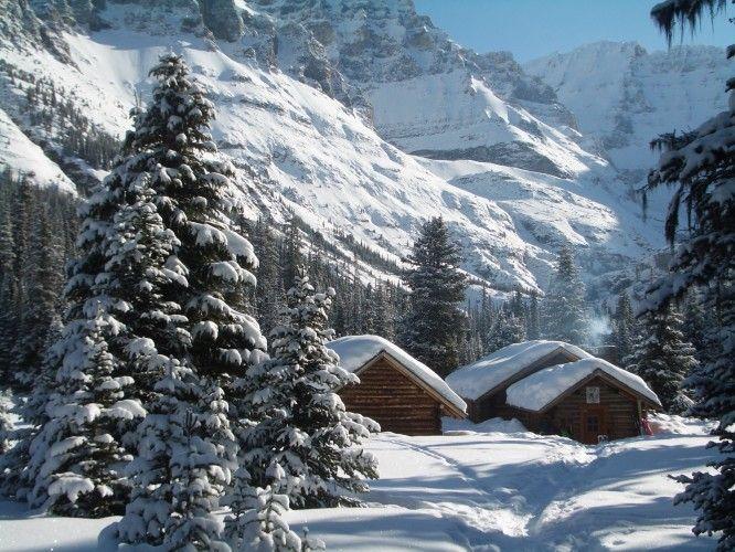 Alpine Club of Canada » Elizabeth Parker Hut