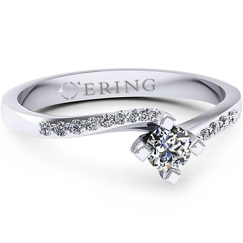 Inel logodna L47ADI Inel cu diamant