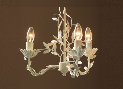 116 best lamparas images on pinterest chandeliers crystal aneela cream 3 light chandelier by laura ashley mozeypictures Images
