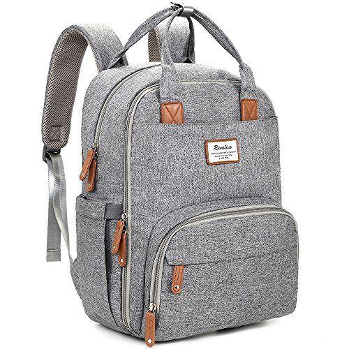09f053a69cdd Diaper Bag Backpack, RUVALINO Multifunction Travel Back Pack ...