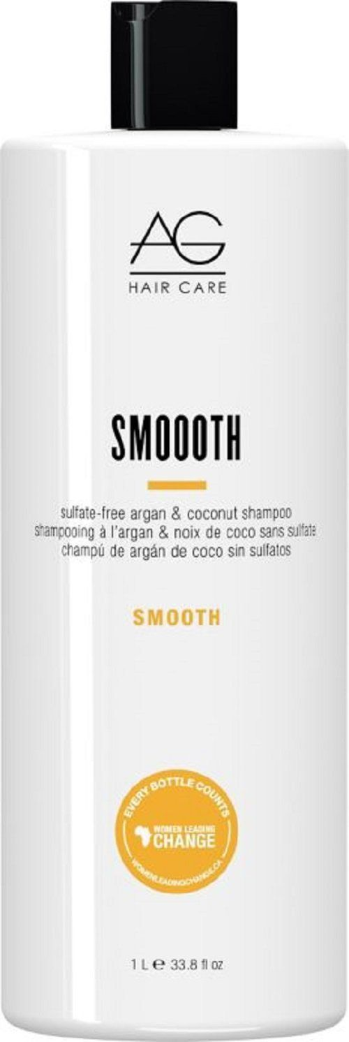 AG Hair Smoooth Sulfate Free Argan Shampoo,  33.8 Fluid Ounce *** Click image for more details.