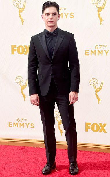 Evan Peters - Emmy Awards 2015 - Red Carpet Arrivals