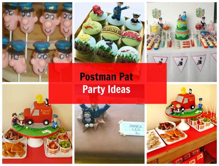 How to Create a Simple Themed Party – Postman Pat Party Ideas  #postmanpat #party #decorations #birthday