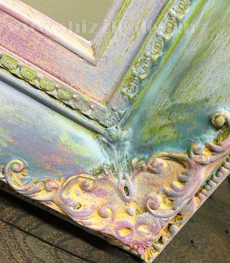 How to Add Sparkle to Painted Furniture using American Paint Company's Metallic Mica Powders VIDEO — Shizzle Design