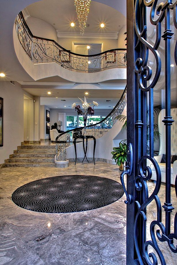 Luxury Mansion Foyer : Best tuscan houses images on pinterest dream homes
