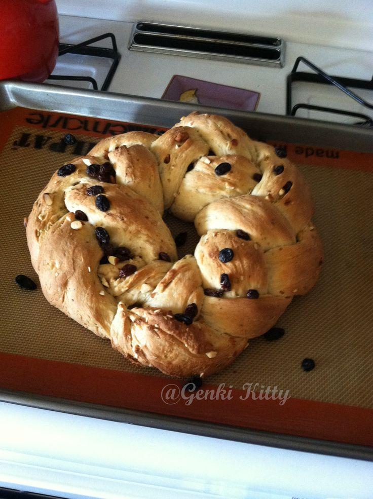 Easter Italian Bread Vegan Recipe