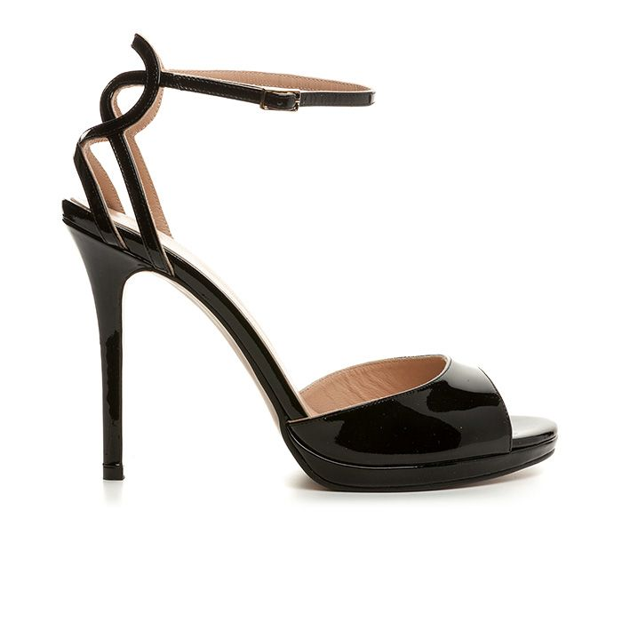 1008B14_BLACK PATENT www.mourtzi.com #mourtzi #sandals #fancy #shoes