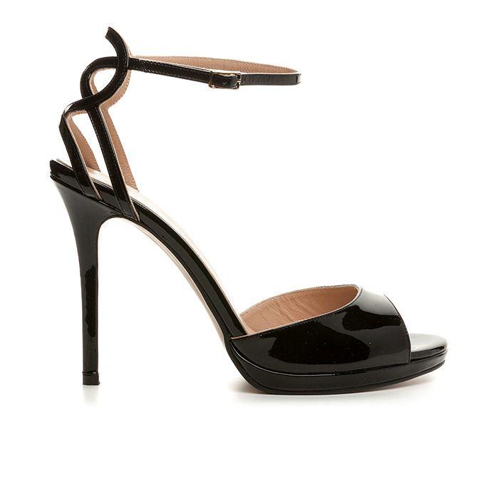1008B14_BLACK PATENT www.mourtzi.com #mourtzi #sandals #fancy #shoes