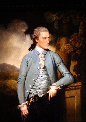 A portrait of John Mortlock of Cambridge and Abington Hall, Great Abington, Cambridgeshire, by John Downman, 1779