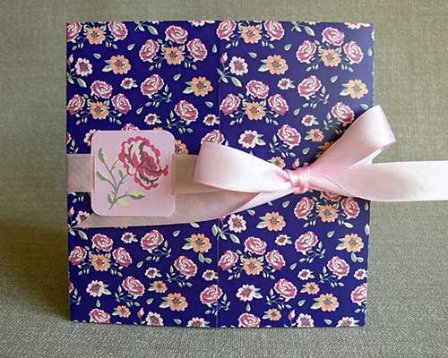 Romantic rose garden wedding invitation - Invitatii de Nunta - Floretta