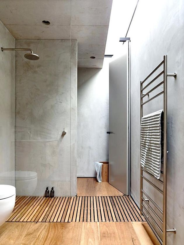 15 ideas for coating the walls of bathrooms without tiles