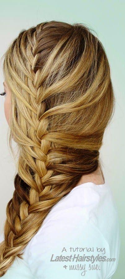 A raiz de las películas y series sobre las sirenitas, nos han encantado sus peinados especialmente estas trenzas tan bien elaboradas para g...