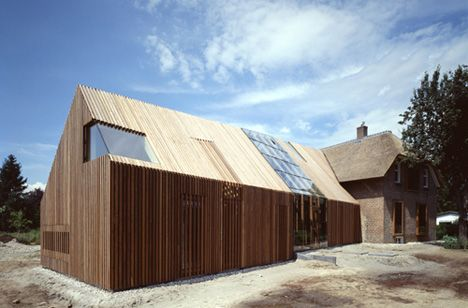 Old Barn Amp Farm Buildings Converted Into A Modern Home