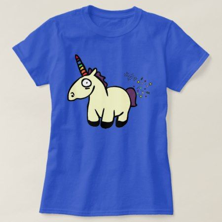 Unicorn Farts T-Shirt - click/tap to personalize and buy
