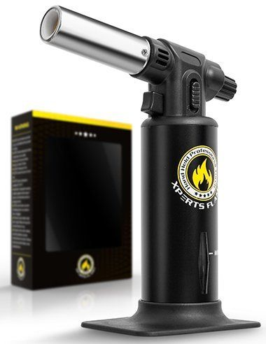 Looking for a powerful, reliable butane blow torch? GET XPERT FLAME'S MICRO BUTANE BLOW TORCH!  WHAT MAKES THE XPERT FLAME SPECIAL? PROFESSIONAL – Powerful flame (1300° / 2500°F) to do the job WELL-DESIGNED – Lightweight, sturdy metal that is easy to hold REFILLABLE – Up to 70 minute gas tank,... - http://kitchen-dining.bestselleroutlet.net/product-review-for-kitchen-torch-culinary-torch-for-creme-brulee-butane-blow-torch-for-home-pro-chefs-safety-lock-adjustable-f