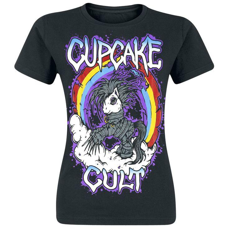 Cloud Pony (Naisten T-paita) - Cupcake Cult