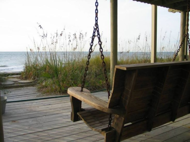 Relaxing on the Beach Porch by Shayalay