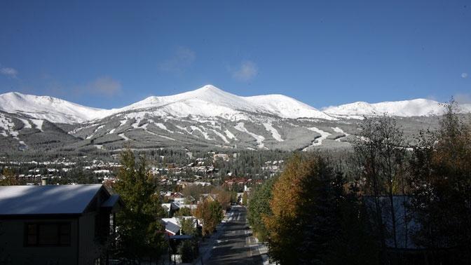 Snow Skiing in Breckenridge, CO