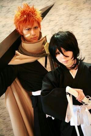Rukia and Ichigo, Bleach cosplay